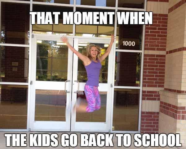 back to school mom meme