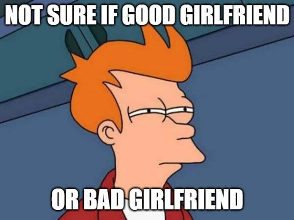 bad girlfriend meme