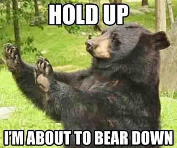 bear down meme