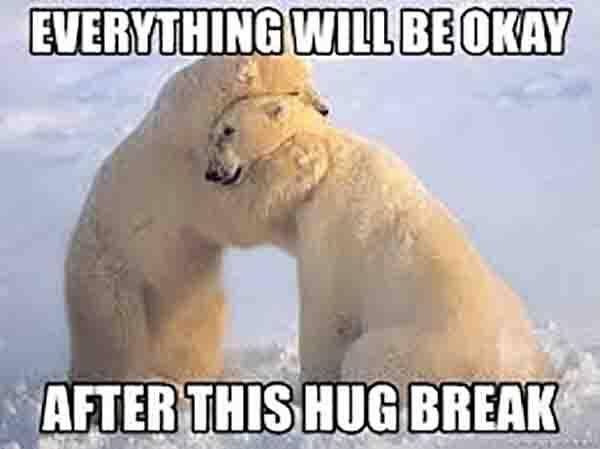 bear hug meme