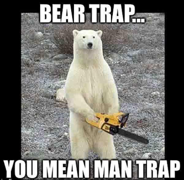 bear trap meme