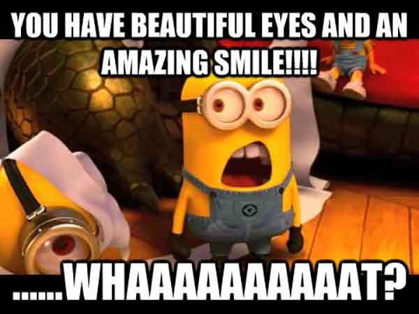 beautiful smile meme