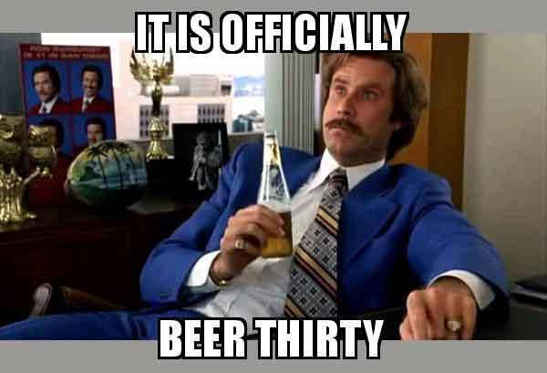 beer thirty meme