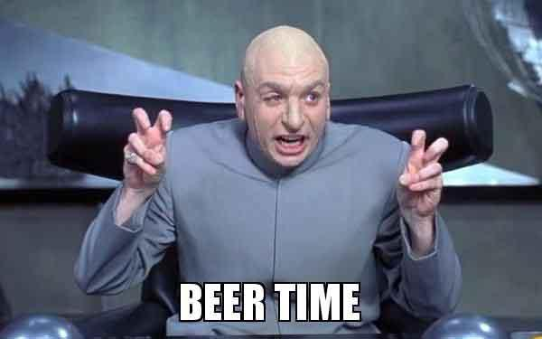 beer time meme