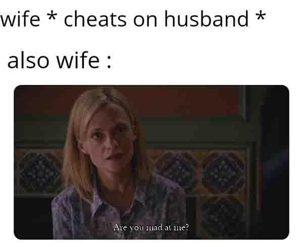best cheating wife meme