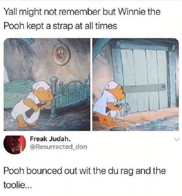 best pooh bear meme