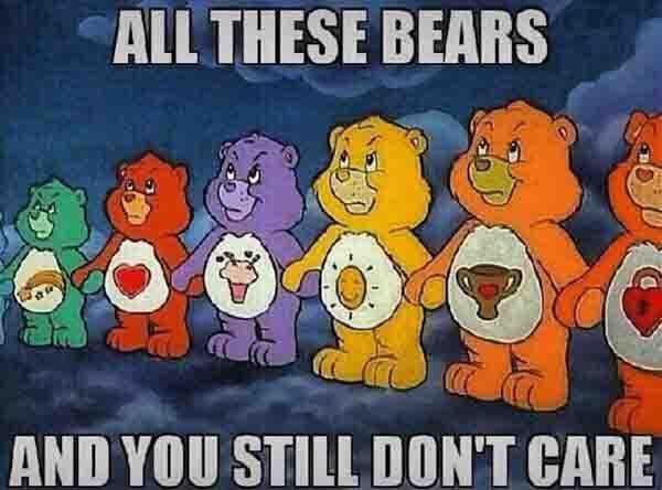 care bear stare meme