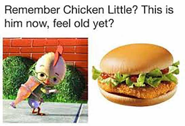 chicken little meme
