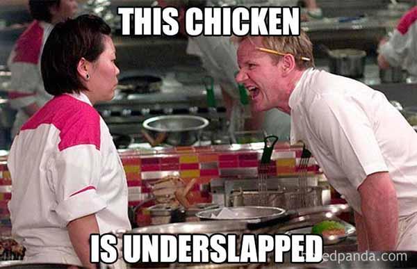 chicken slap meme