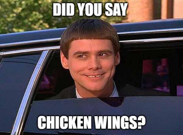 chicken wing meme