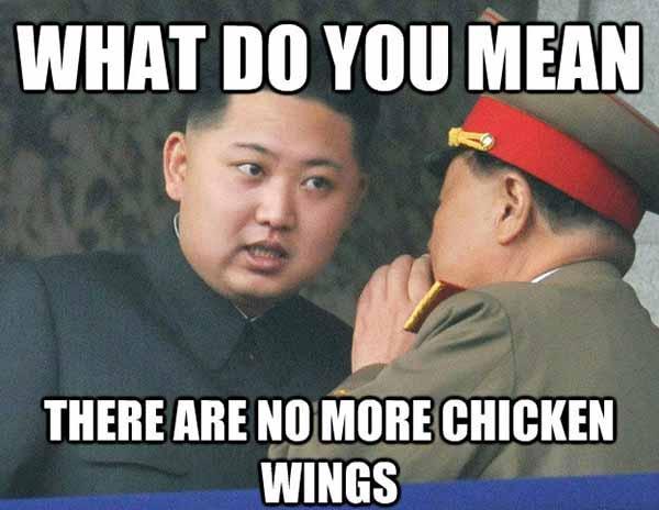 chicken wings meme