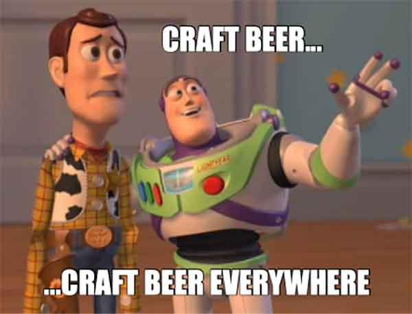 craft beer meme