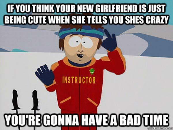 crazy new girlfriend meme