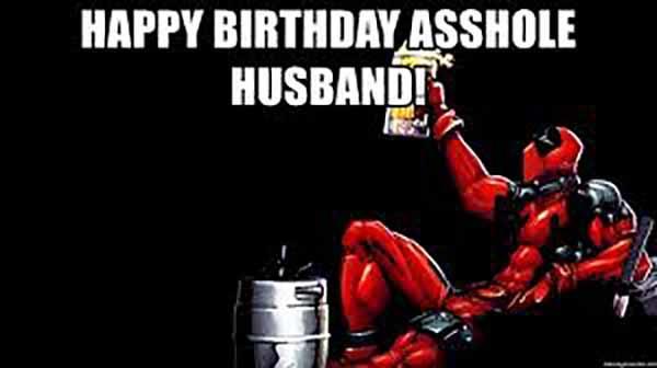 deadpool birthday meme husband