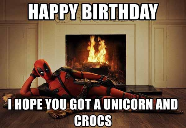 deadpool birthday meme
