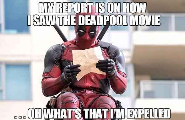 deadpool meme funny