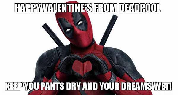 deadpool valentines meme