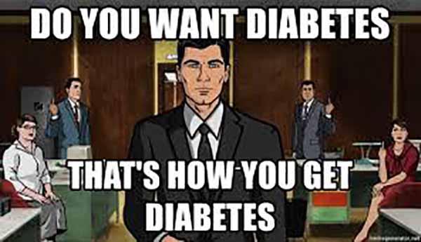 do you want diabetes meme