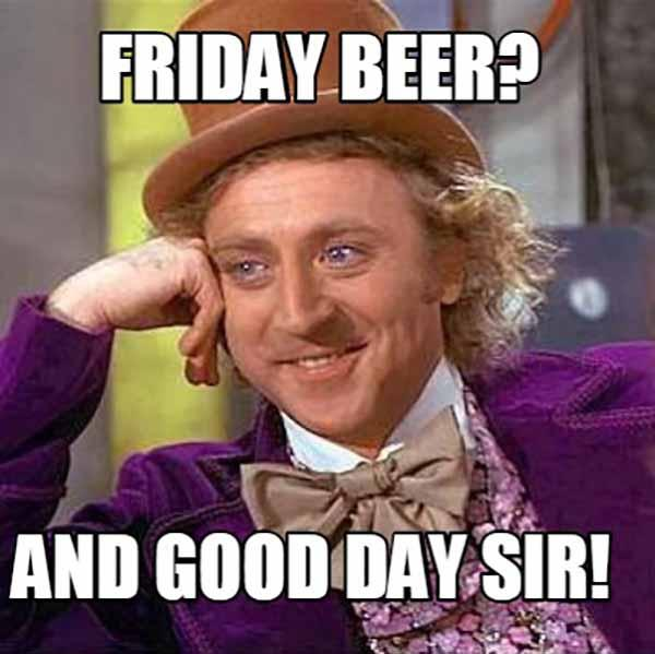friday beer meme
