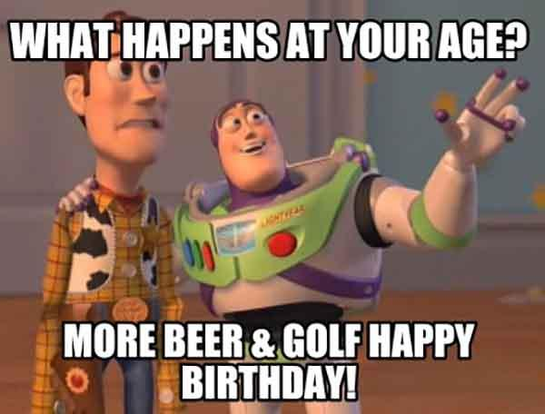 funny beer birthday meme