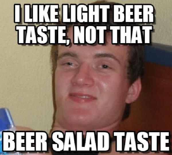 funny i like beer meme
