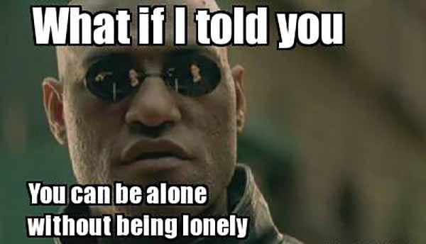 funny lonely memes