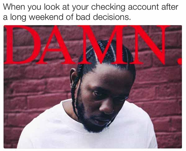 funny long weekend meme