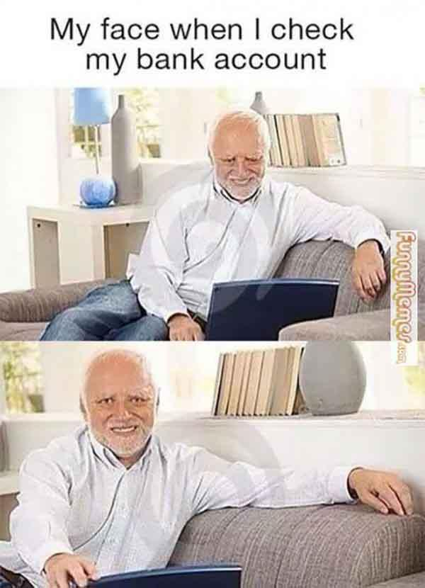 funny old man smile meme