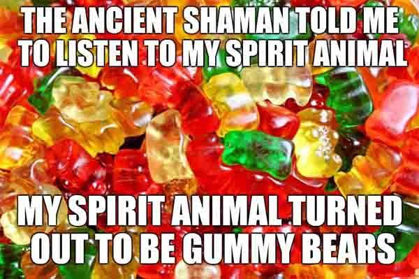 gummy bear meme