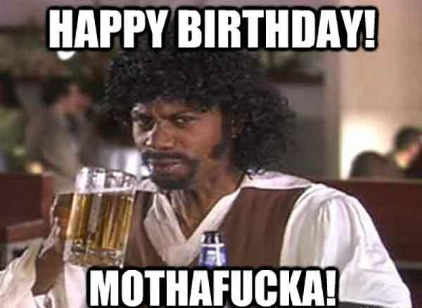 happy birtday meme beer