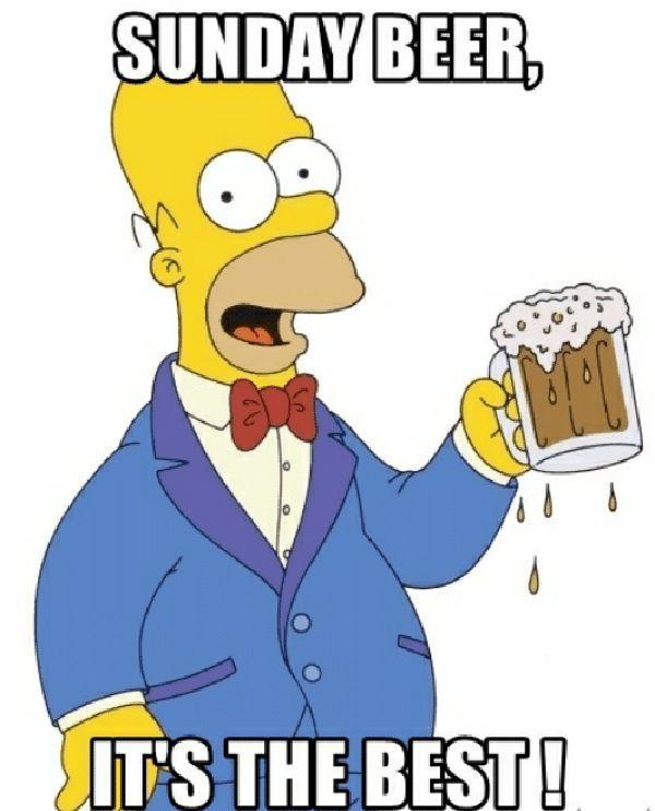 homer simpson beer meme