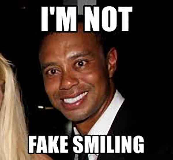 i'm not fake smiling