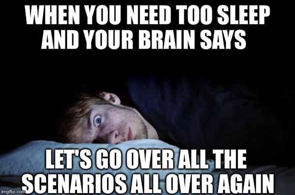insomnia brain meme