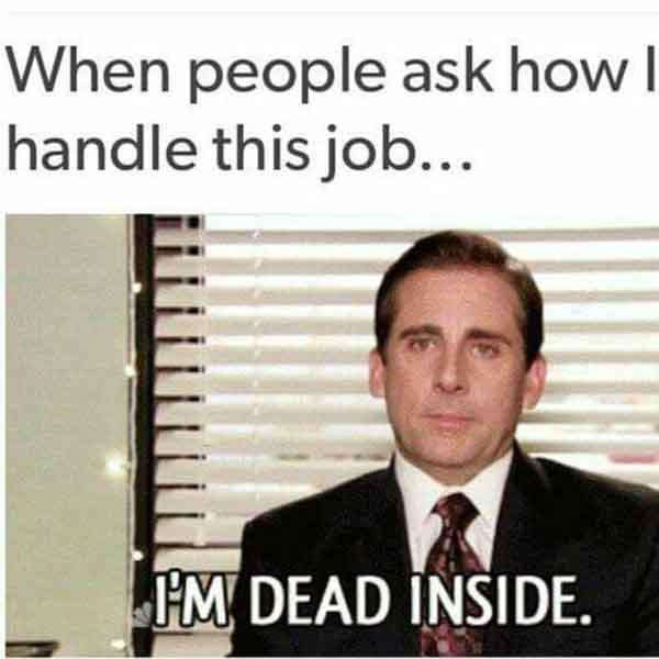 job stress meme