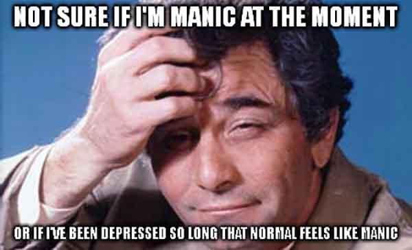 manic depression meme