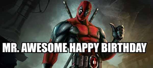 mr awesome happy birthday