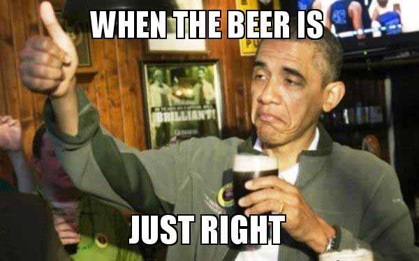 obama beer meme