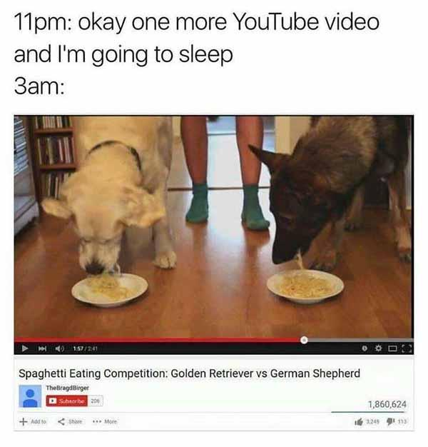 one more youtube video... insomnia funny meme