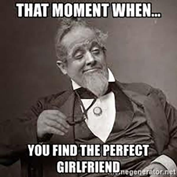 perfect girlfriend meme