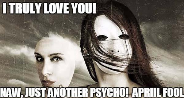 psycho girlfriend meme
