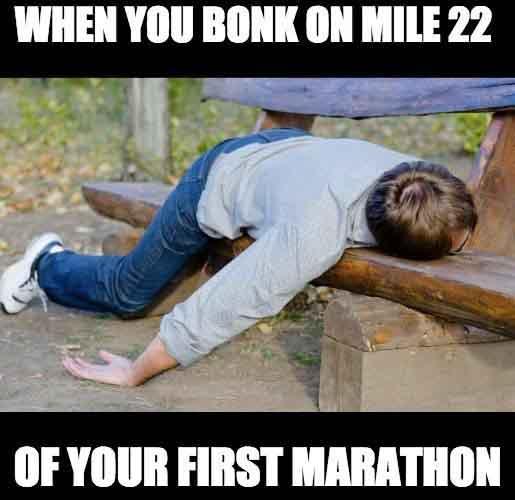 running marathon meme