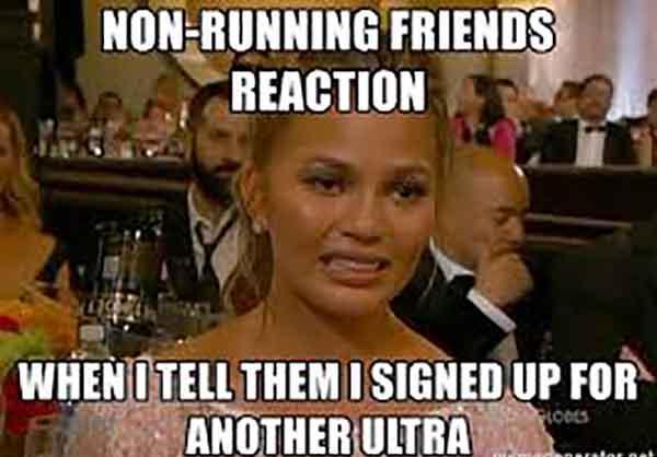 running reaction meme