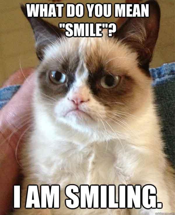 smile cat meme