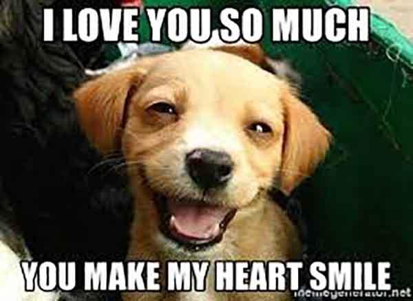 smile i love you meme