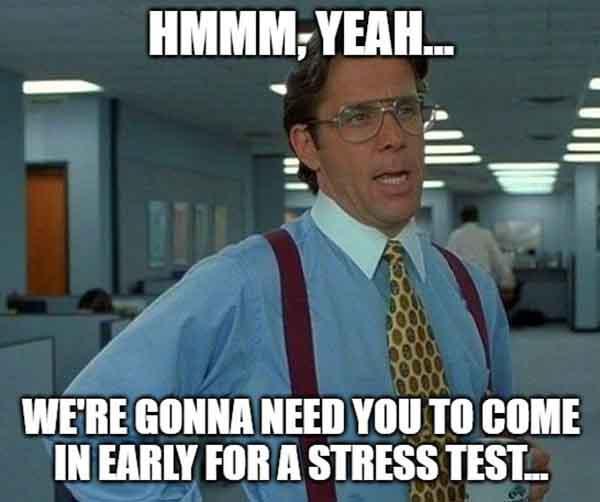 stress test meme