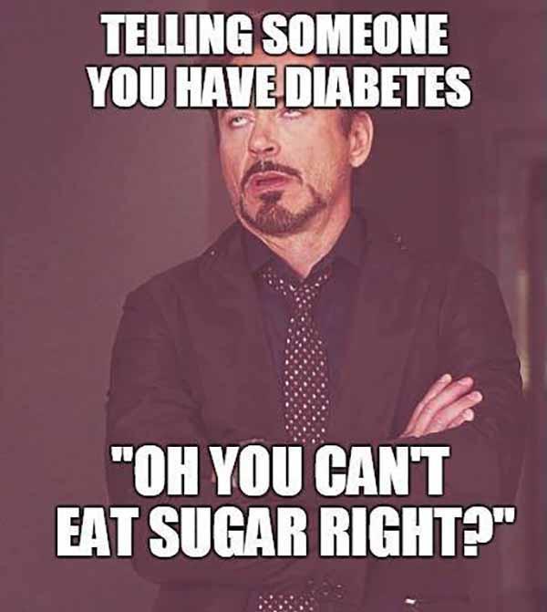 sugar diabetes meme