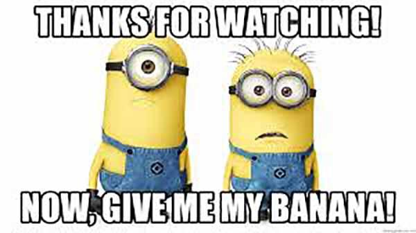 thanks for watching meme