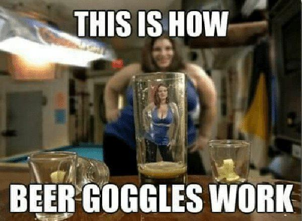 this is how beer goggles work