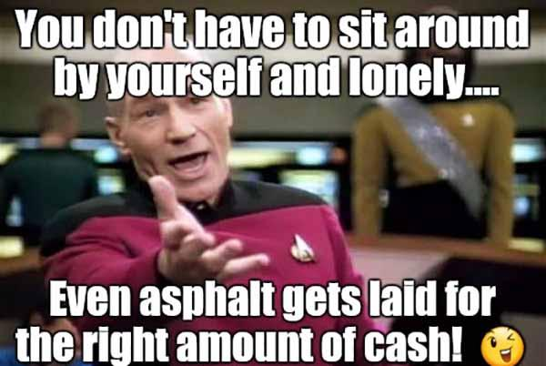 you don't have to be lonely meme