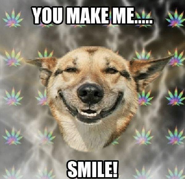 you make me... smile